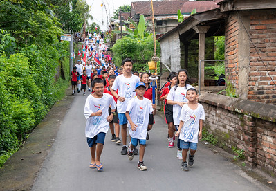 Peace Run in Sudaji 2019