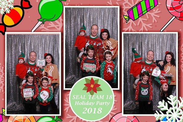 SEAL TEAM 18 HOLIDAY PARTY
