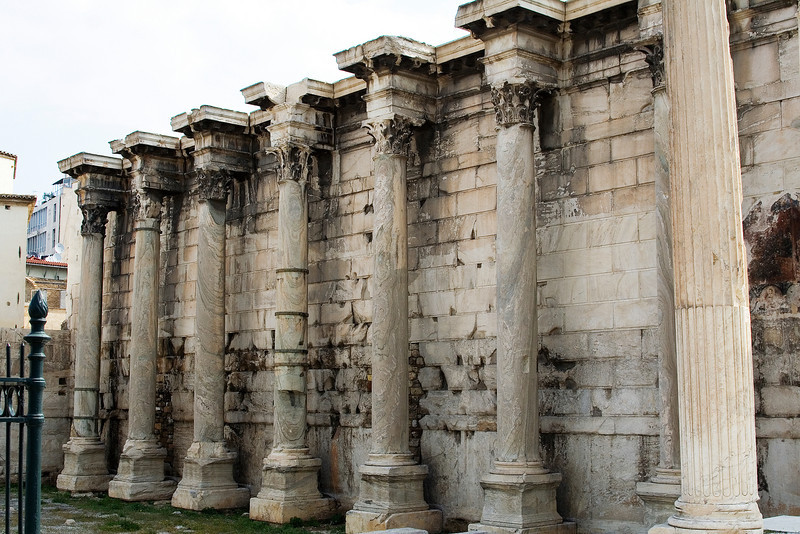 Columns at Hadrian's Library.jpg