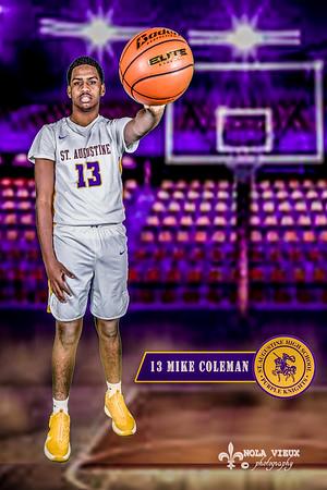 St Augustine Basketball Team - Varsity