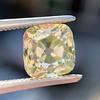 2.10ct Light Yellow Antique Peruzzi Cut Diamond, GIA W-X SI2 5
