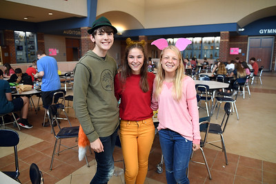 Tuesday: Disney Character Day