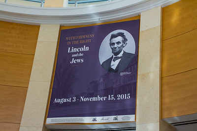 10/25/15 Visit to Lincoln and the Jews Exhibit