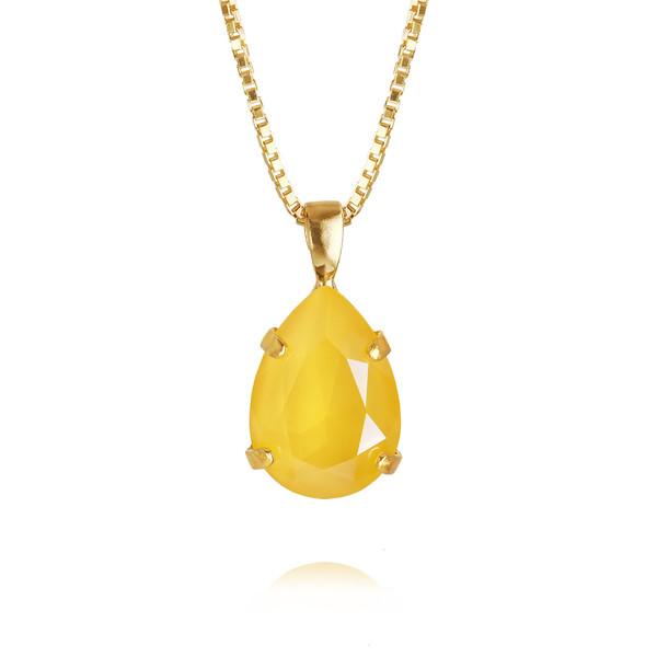 Mini Drop Necklace / Buttercup