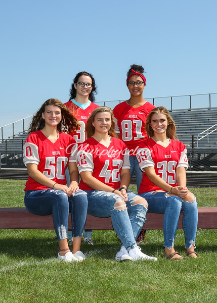 SNHS Pre-Homecoming Court 2019