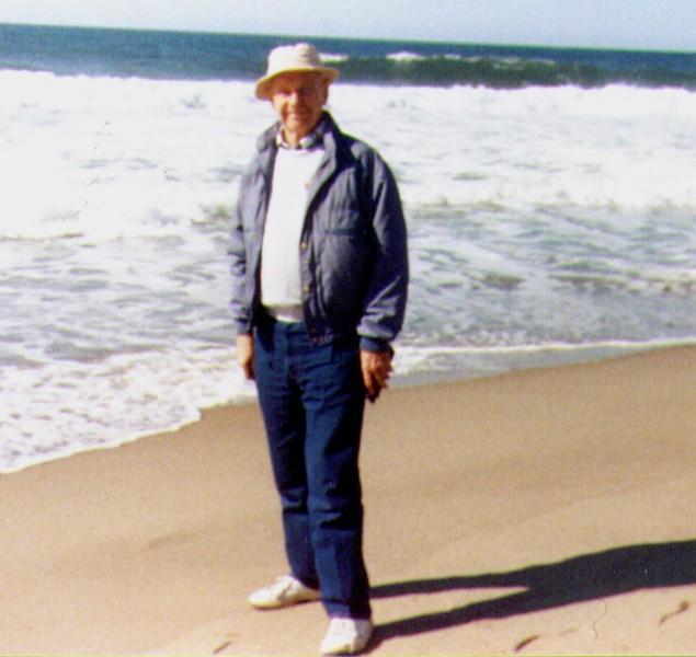 Wayne on beach of Oregon Coast  .jpg