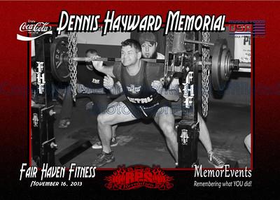 Dennis Hayward Memorial November 16 2013