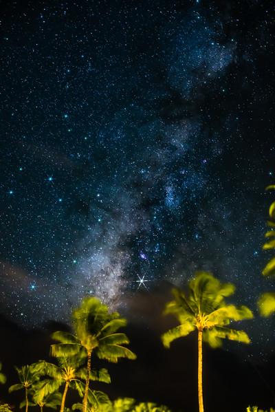Milky Way in Kauai