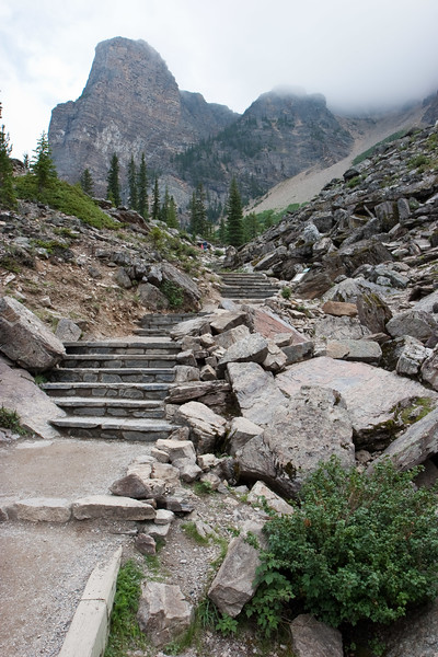 Stairs Up The Rockpile