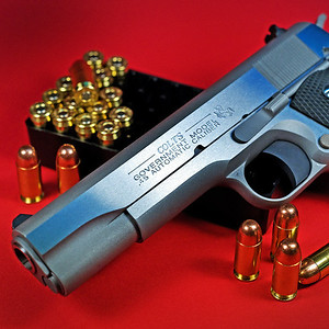 """Colt 1911 """"100 Years of Service"""" - 45ACP"""