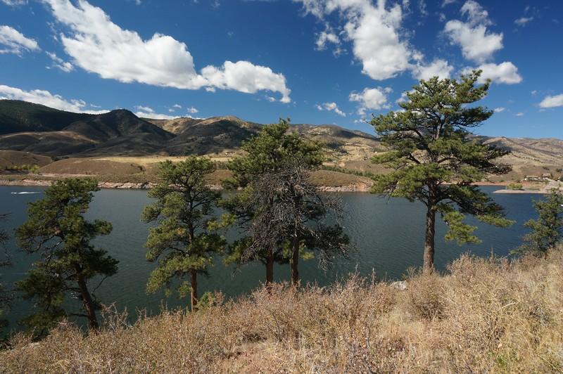 Reservoir above Ft. Collins