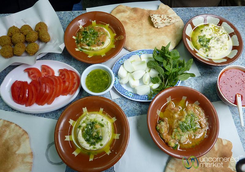 Lunch at Hashem - Amman, Jordan