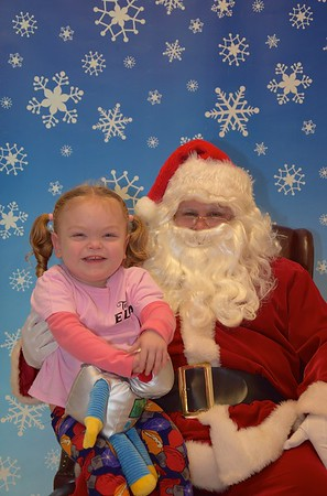 Santa at Ella's Fundraiser