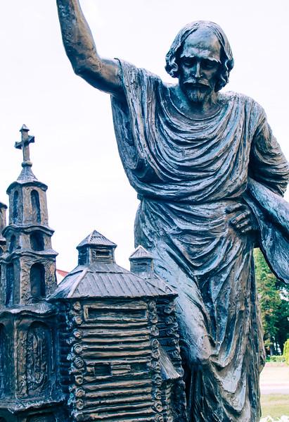 Monument in Minsk, Belarus