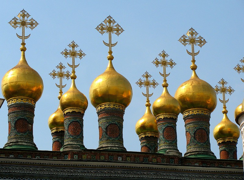 Royal Chapel in Kremlin