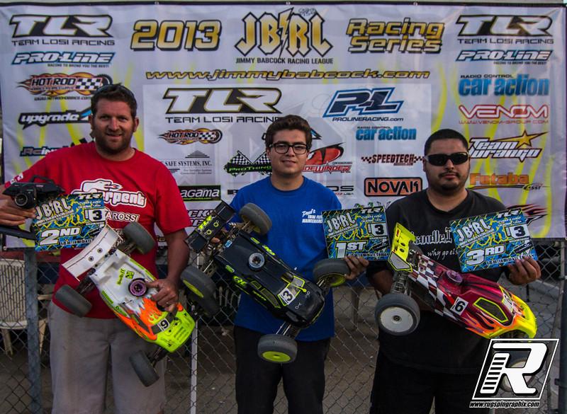 Intermediate Truggy 1st Dillon Hoffman, 2nd Eddie Laret, 3rd Eddie Ayala
