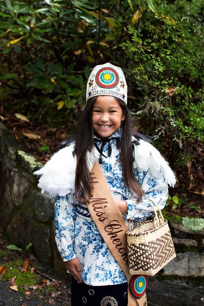 Jenna ~ Little Miss Cherokee 2014