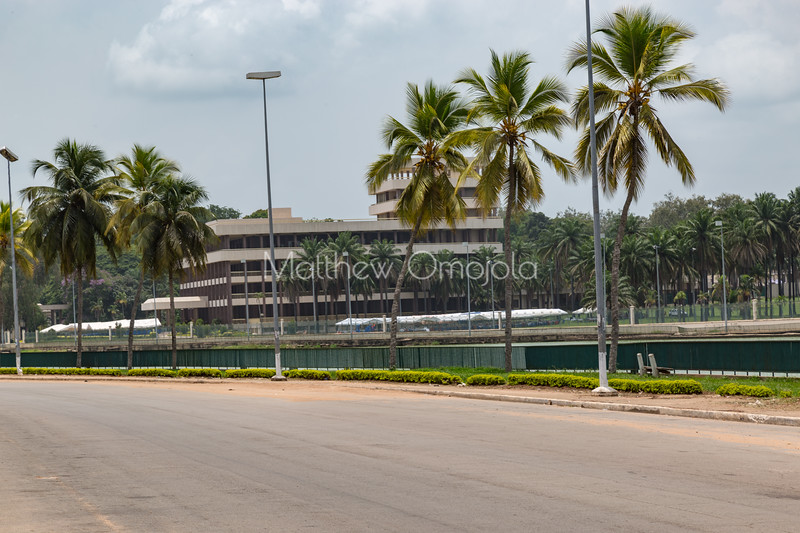 President Houphouet Boigny palace in Yamoussoukro Ivory Coast Cot d'Ivoire.