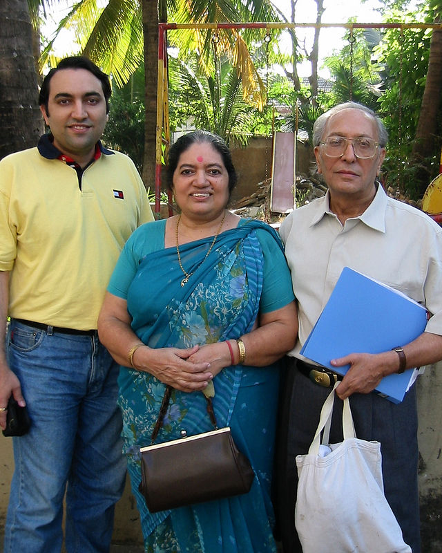 Suchit Nanda [myself], Sharda Nanda [Mom], S K Nanda [Dad]