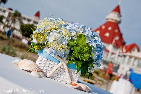 Hotel Del Beach Wedding - Sample Album