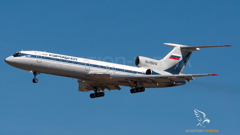 Aeroflot Tupolev TU-154 RA-85642