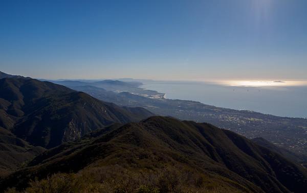 Montecito Peak - Santa Barbara 12.3.16