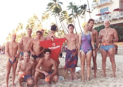 1988 Waikiki Roughwater Swim 9-5-1988
