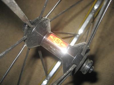 mavic cross front wheel