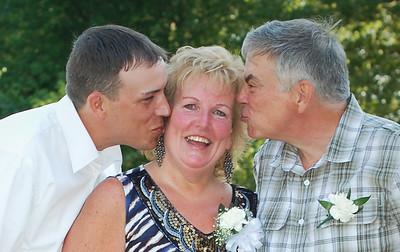 Wedding Family Portraits During Cocktail Hour at Emerson Park Emerson Park Pavilion Auburn NY