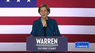 Elizabeth Warren speech