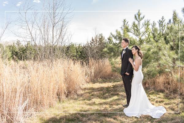 Modernly Vintage Wedding Inspiration at Pavilion at Vida Bela in Conroe Texas