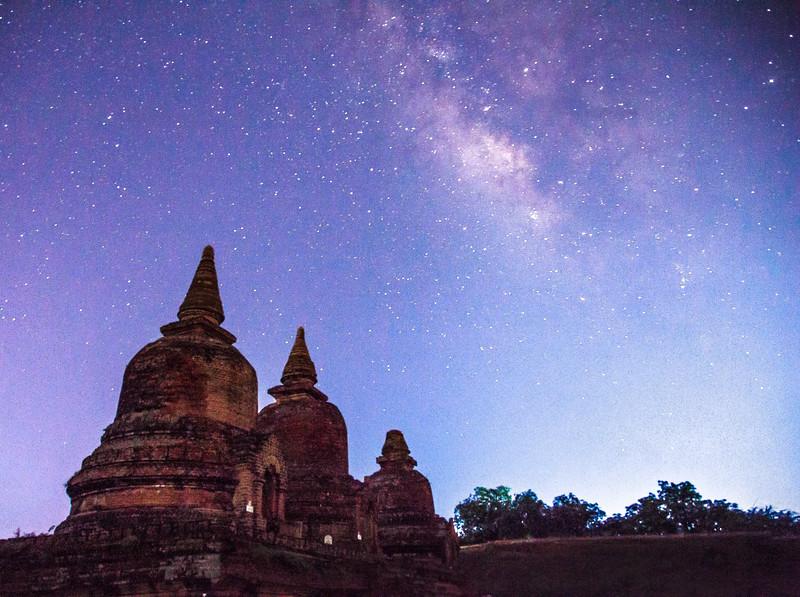 Starlight over Bagan