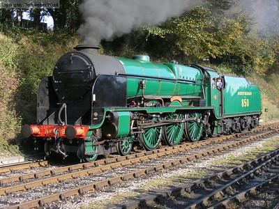 Autumn Steam Gala - October 2011