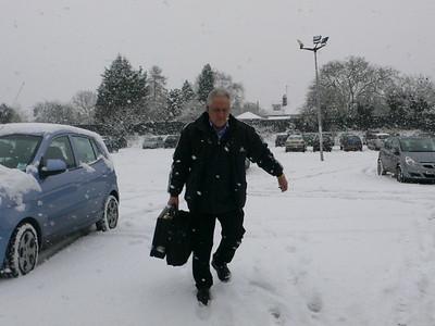 Snow day - Milton Road 02/02/09