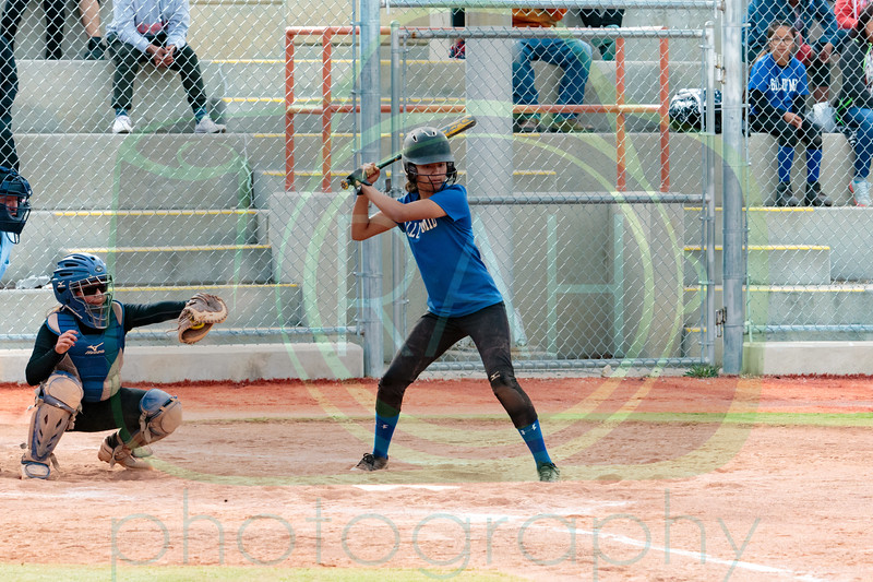 Chief vs Gallup Mid A Team Softball 4-10-17