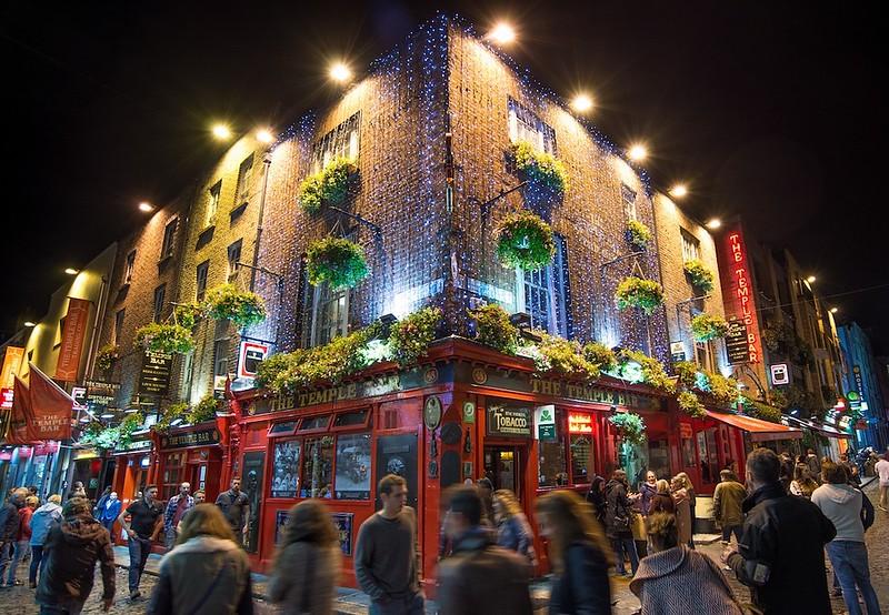 Temple Bar - Nightlife in Dublin