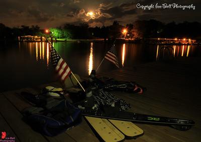 Tribute to a Fallen Skier