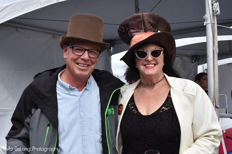 Steve Bendinelli and Rosemary Olson