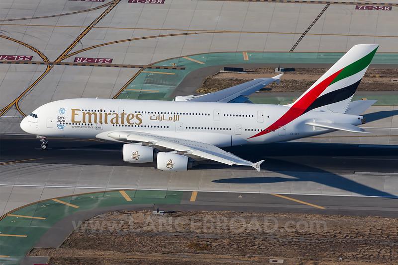Emirates A380-800 - A6-EEV - LAX