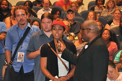 "Community Forum ""#Noferguson here"" Aug 28, 2014"