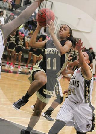 Fayette girls region finals