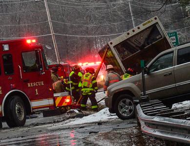 Head-on crash in Spofford - 032219