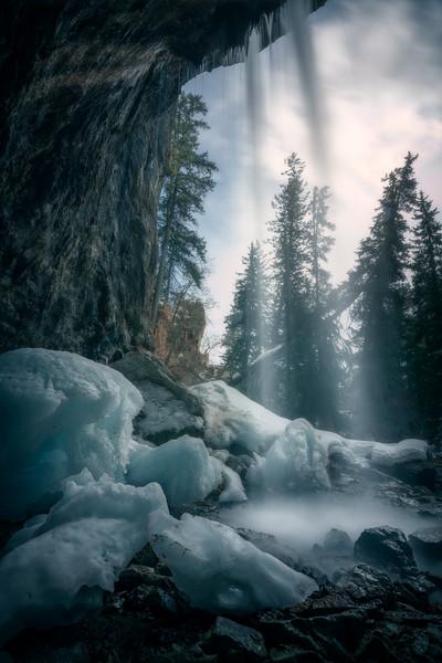 Ice Spout || Hanging Lake