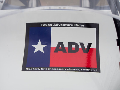 TX ADV Rider stickers