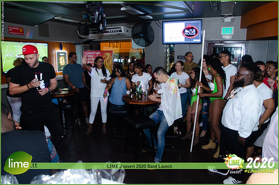 LIME J'ouvert 2020 Band Launch