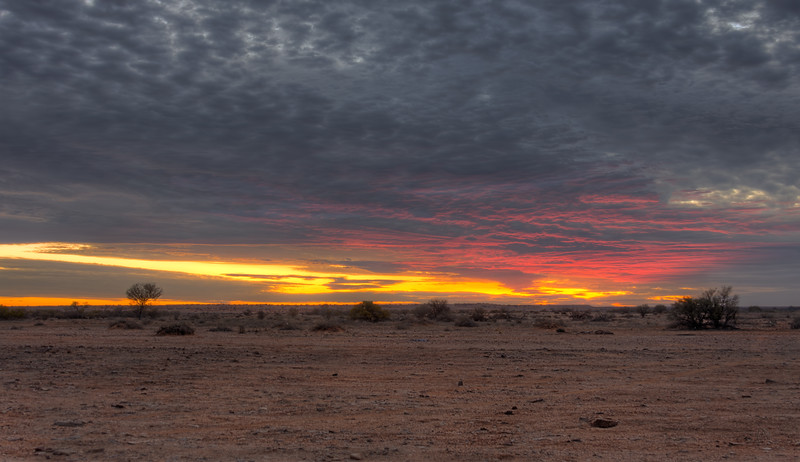 An Outback Sunset