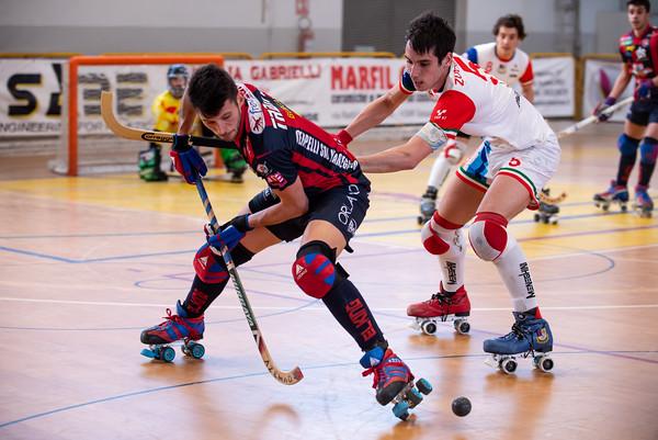 BDL Correggio Hockey vs GDS Impianti Forte dei Marmi