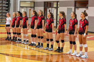 Girls Varsity Volleyball - 10/15/2019 TriCounty Seniors Night