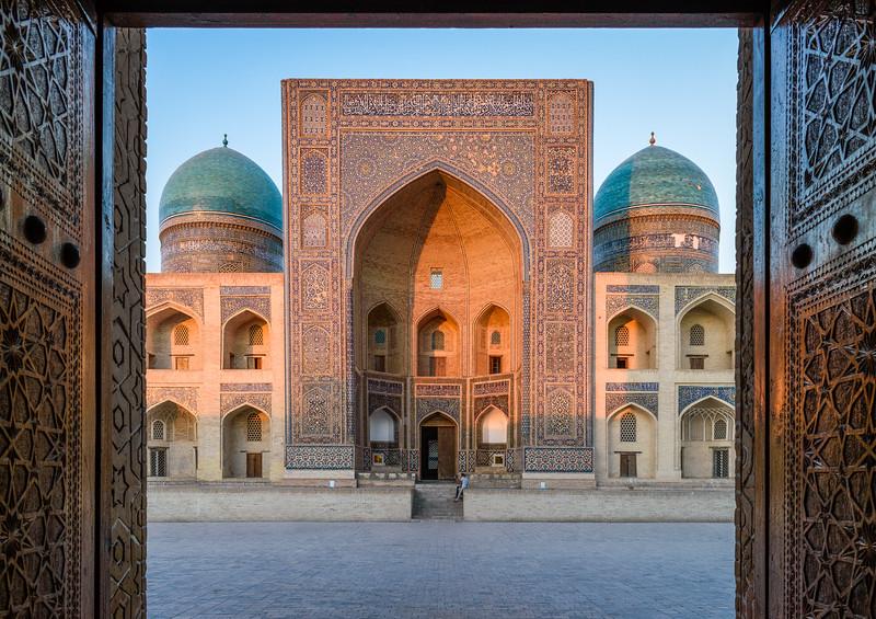 Mir-i-Arab Madrassa, Bukhara, Uzbekistan