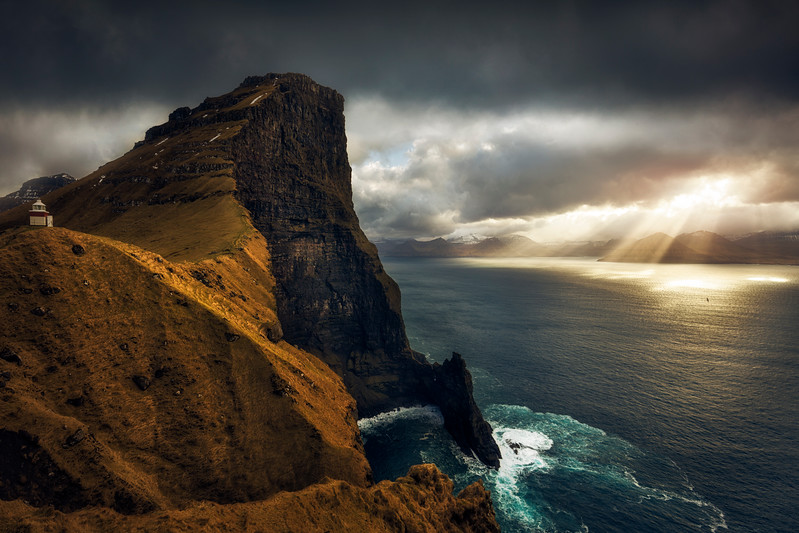 Kalsoy sunbeam eidi waterfall  faroe islands landscape photography epic cliffs faroes.jpg